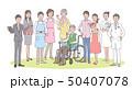 介護と病院と関係する人たち 50407078