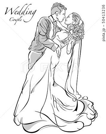 Bride and Groom Wedding Couple 50413236