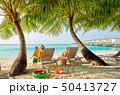 ビーチ 浜辺 人々の写真 50413727