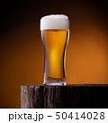 Glass of light beer 50414028