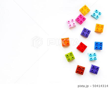 Colorful constructor blocks. Toy bricks 50414314