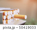 灰 紙巻タバコ タバコの写真 50419033