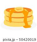 ホットケーキ パンケーキ 洋菓子のイラスト 50420019