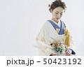 花嫁 和装 女性の写真 50423192