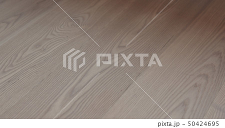 ash wood floor closeup background 50424695