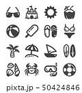 beach icon set 50424846