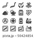cordyceps icon set 50424854