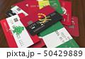 アンゴラ 旗 フラッグのイラスト 50429889