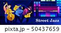 ジャズ 音楽 ベクトルのイラスト 50437659