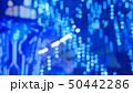Abstract defocused blue lighting bokeh 50442286