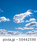 Clear sky and clouds 50442590