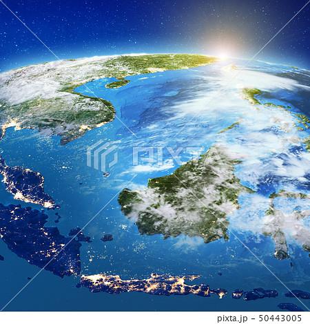 Indonesia - Sulawesi, Kalimantan, Java, Bali and Sumatra, island 50443005