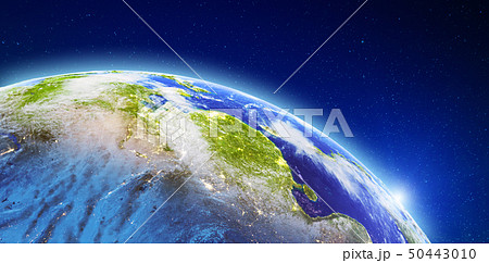 Asia - China from space 50443010