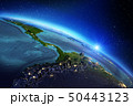 Planet Earth geography. 3d rendering 50443123