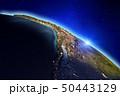 Planet Earth. 3d rendering 50443129