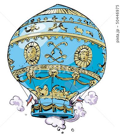 モンゴルフィエの気球 50446975