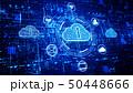 ネットワーク 通信 セキュリティのイラスト 50448666