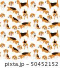 わんこ 犬 ベクタのイラスト 50452152