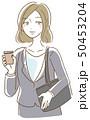 ビジネスウーマン ビジネス 女性のイラスト 50453204