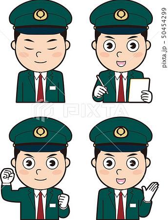 男性バス運転士7 50454299
