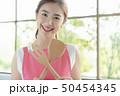 ポートレート 女性 若い女性の写真 50454345