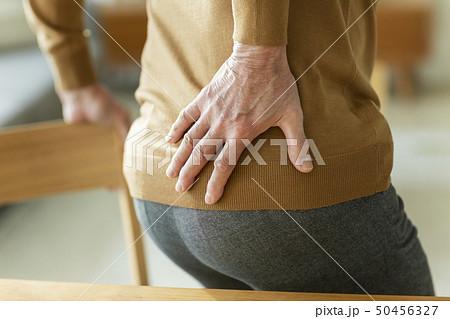 シニア男性 腰痛 50456327