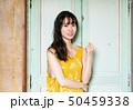 女性 ヘアスタイル ワンピースの写真 50459338