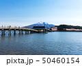(青森県-風景)鶴の舞橋と岩木山4 50460154
