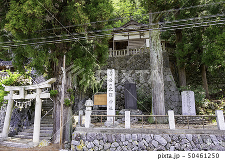 岡山県真庭市 上中津井 金刀比羅神社 参道 50461250