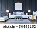 Modern classic luxury living room interior 50462162
