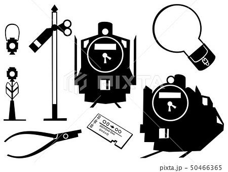 蒸気機関車 アイコン 50466365