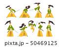 サムライ samurai 武士のイラスト 50469125