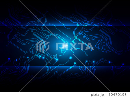 Abstract Technology circuit 50470193