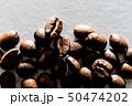 コーヒー豆の接写 50474202