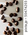 コーヒー豆の接写 50474203