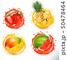 いちご イチゴ 苺のイラスト 50478464
