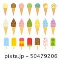 アイスクリーム セット 50479206