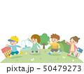 子供 友達 走るのイラスト 50479273