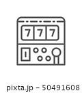 スロット ゲーム アイコンのイラスト 50491608