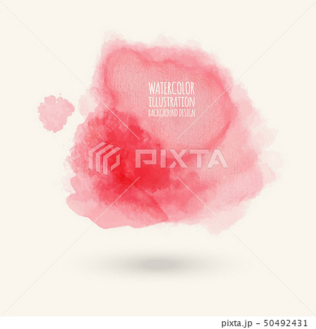 color watercolor background. vector illustration 50492431