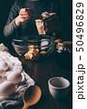 お菓子づくり ボウル 器の写真 50496829