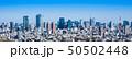 東京タワー・都市風景 イメージ ワイド 50502448