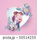 Happy Mother's day greeting card 50514255