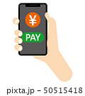 円マーク キャッシュレス キャッシュレス決済のイラスト 50515418