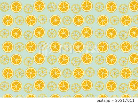 シンプル オレンジ パターン 50517011