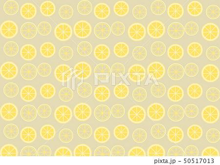 シンプル レモン パターン 50517013
