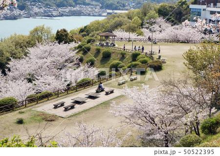 公園と瀬戸内海 50522395