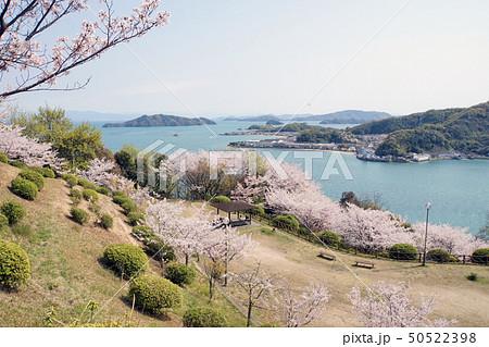 公園と瀬戸内海 50522398