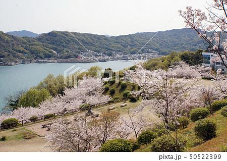 公園と瀬戸内海 50522399