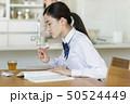 女の子 女性 学生の写真 50524449